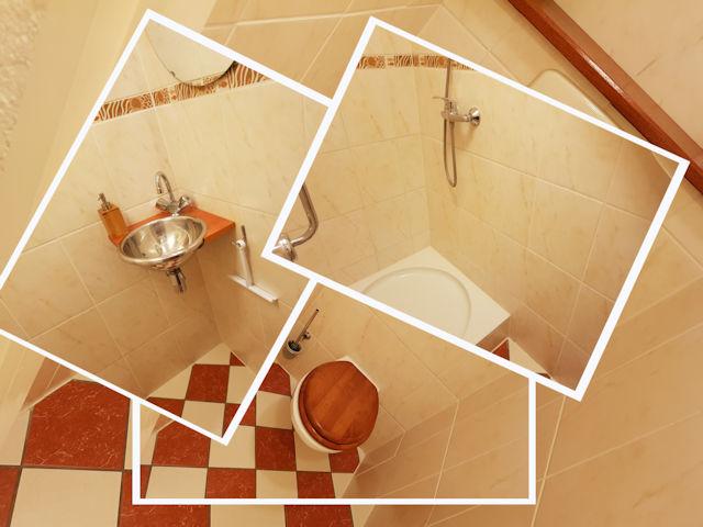 etagedouche/toilet b&b seahorse