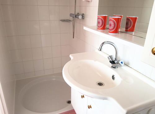 kamer met sanitair
