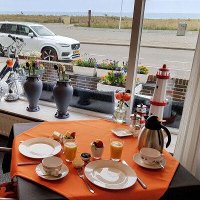ontbijt in seahorse